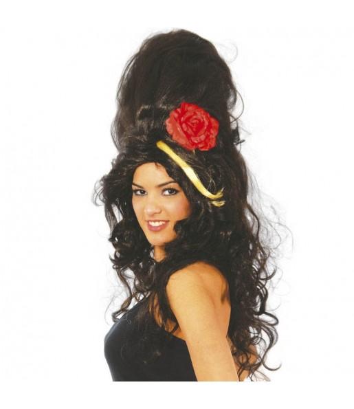 Peluca de Amy Winehouse