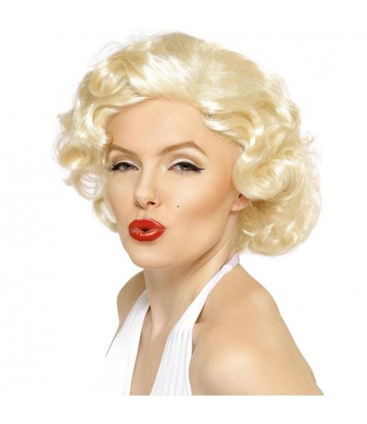 Peluca Rubia Marilyn Monroe