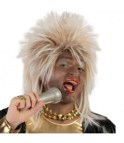 Peluca Tina Turner Rubia