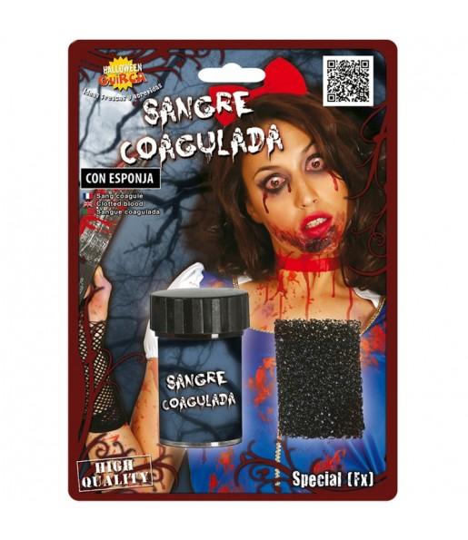 Sangre Coagulada con esponja