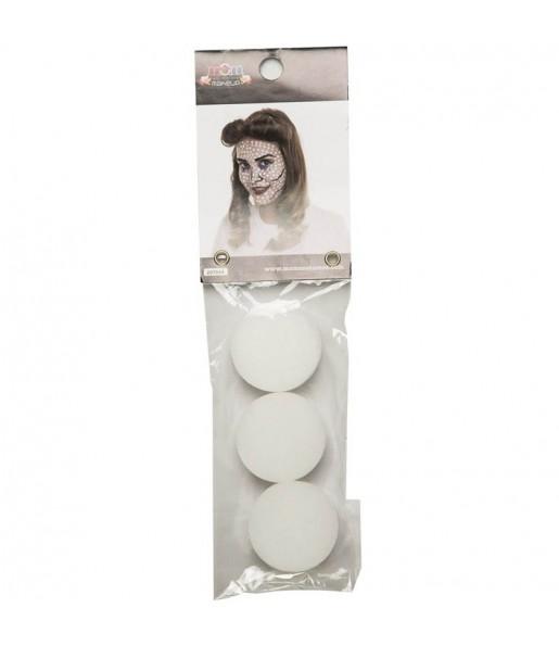 Kit 3 Esponjas de Maquillaje