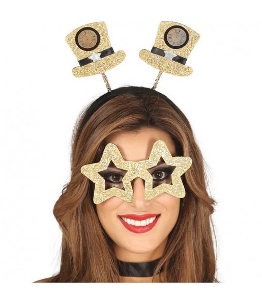 Set Diadema y Gafas Fin de Año
