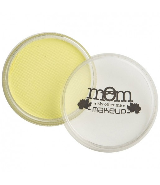 Tarro Maquillaje al agua Amarillo claro