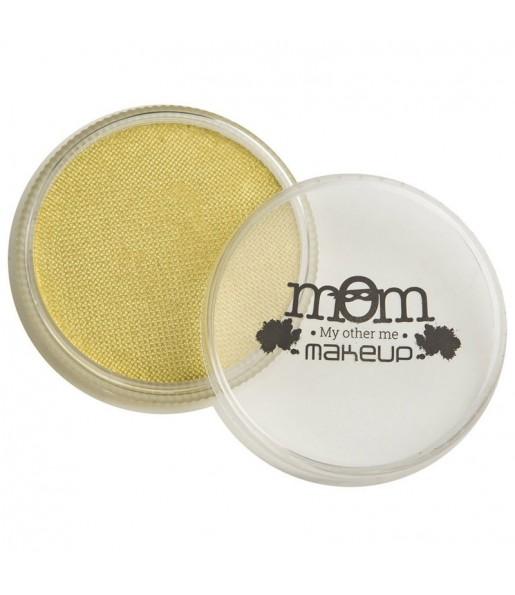 Tarro Maquillaje al agua Amarillo perlado