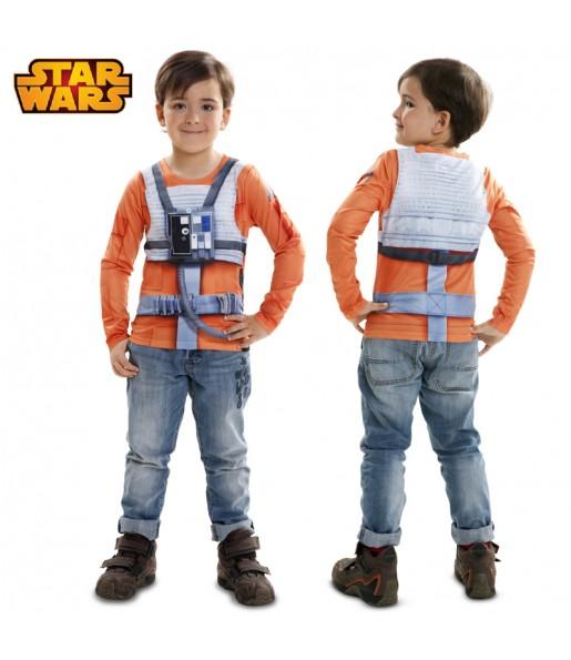 camiseta luke skywalker infantil