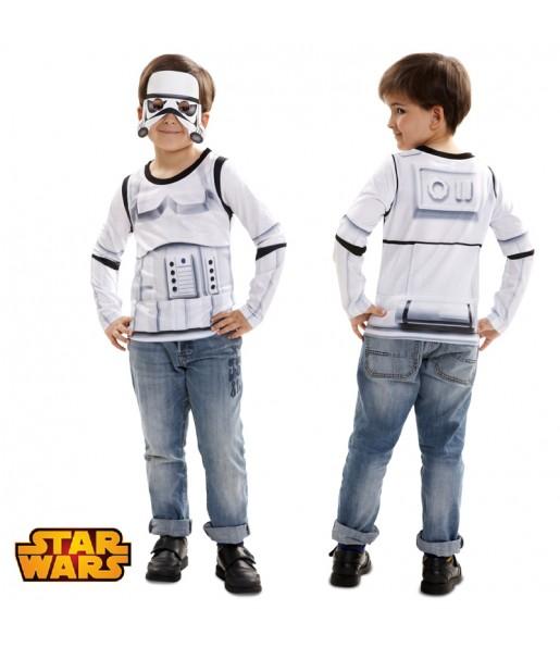camiseta stormtrooper infantil