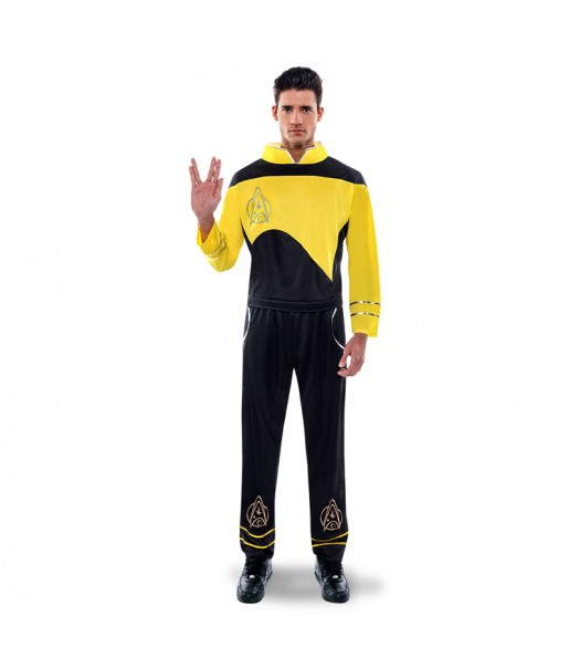 disfraz capitán kirk star trek adulto
