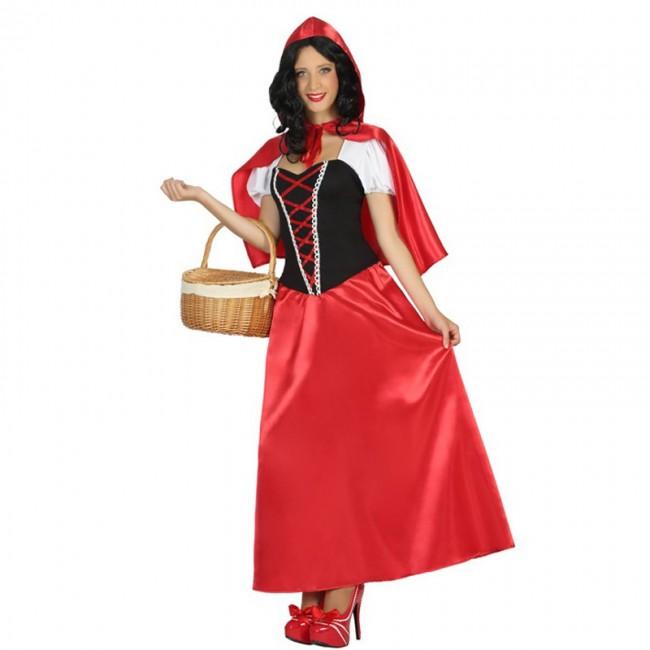 Caperucita Roja Halloween.Disfraz De Caperucita Roja Larga