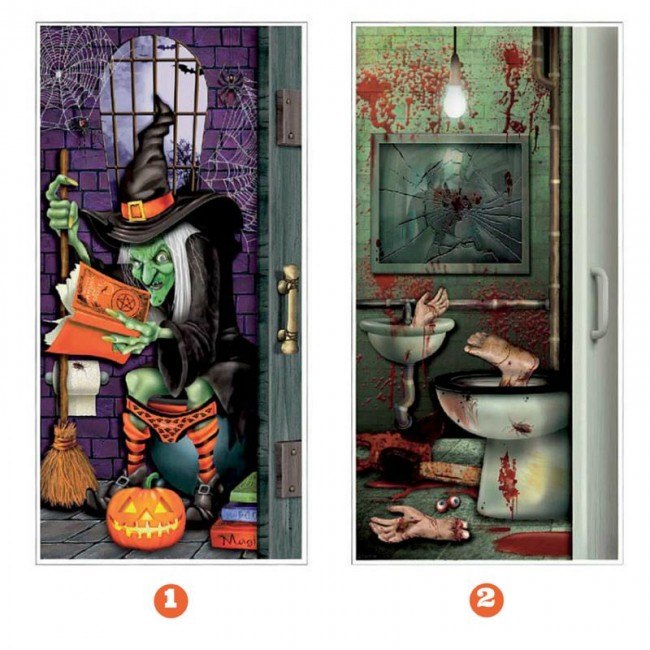 Decoración Halloween Para Puerta