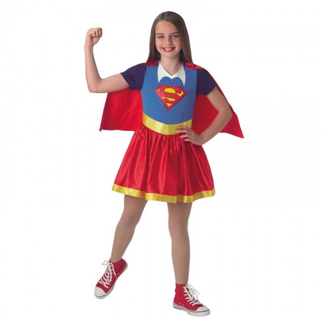 ac0cd701cc3 Disfraz de SuperGirl DC Comics para niña   Envío en 24h