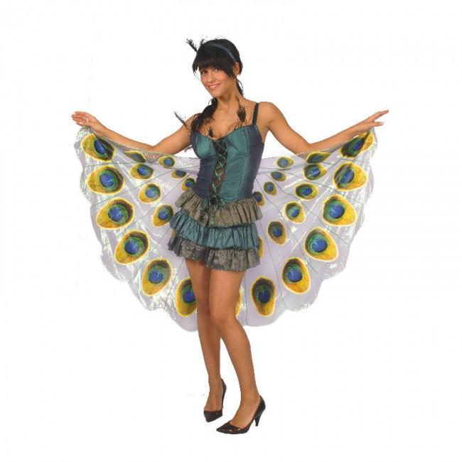 Disfraz De Pavo Real Para Mujer Envío En 24h