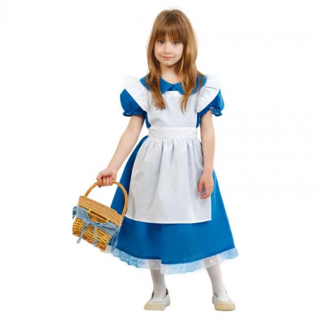 206f66a6f Disfraz de Alicia País de la Maravillas para niña