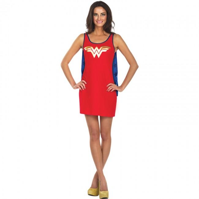 Disfraz Vestido Wonder Woman Dc Comics