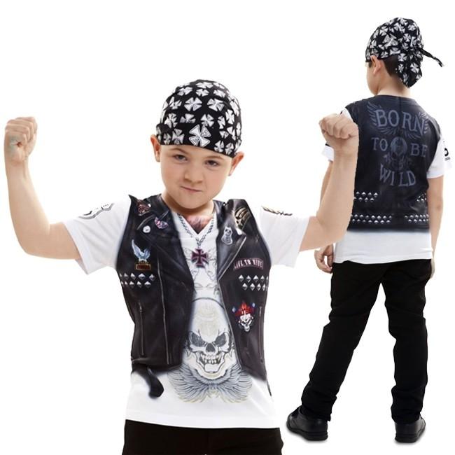 1518032d0 Disfraz camiseta Motorista niño - Envío en 24h