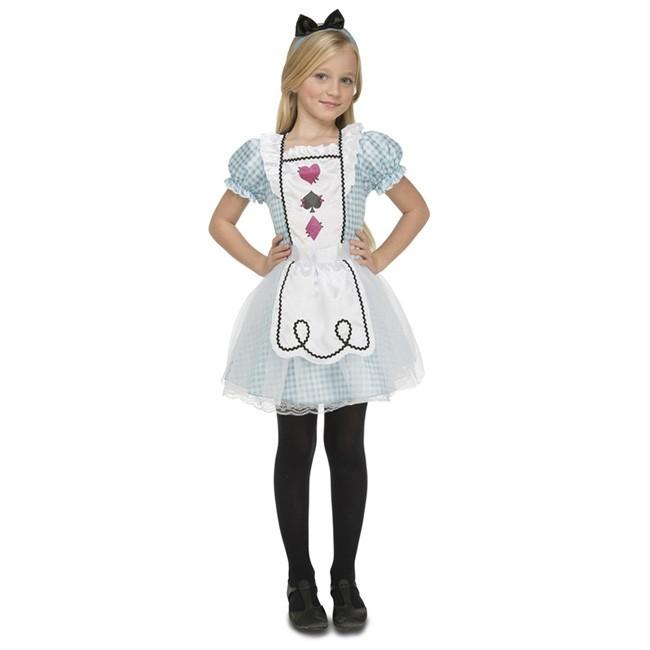 fc9d7ca22 Disfraz de Alicia en el País de las Maravillas para niña