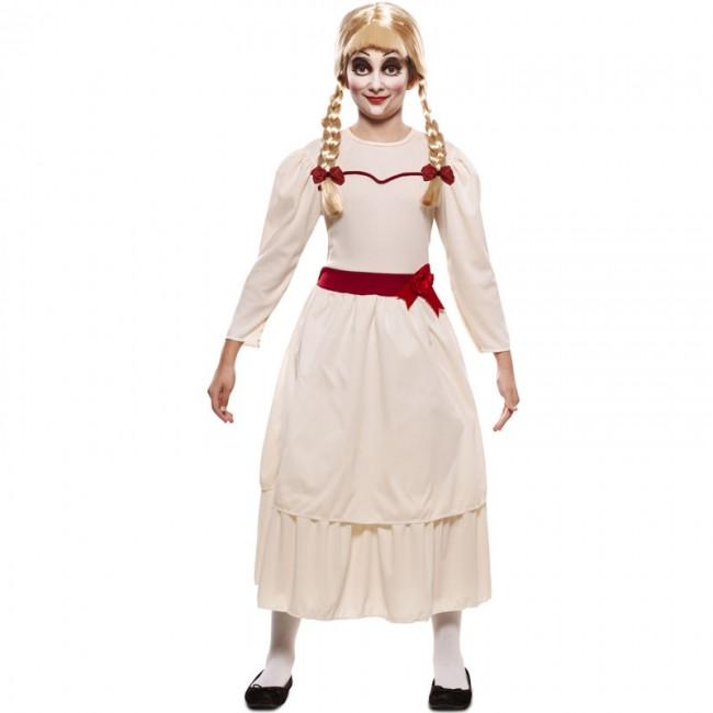 Disfraz Muneca Annabelle Para Nina Envio Halloween En 24h