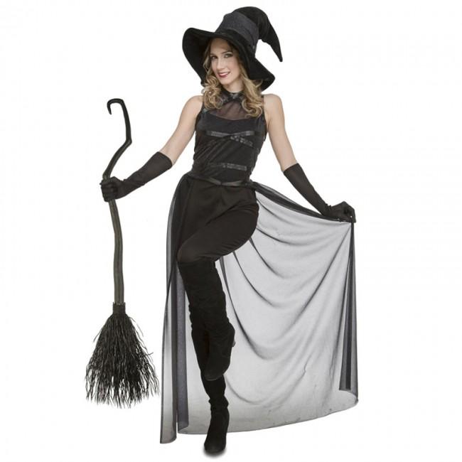Disfraz Bruja Negra mujer - Disfraces Halloween en 24h