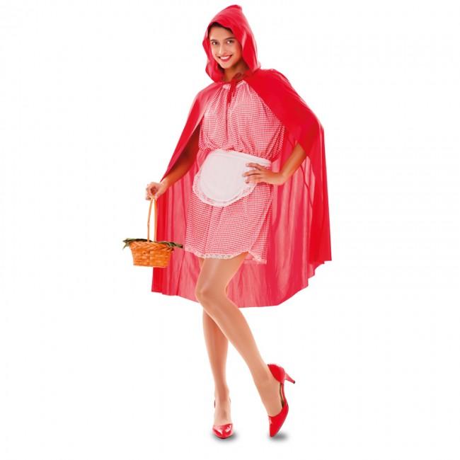 Disfraz De Caperucita Roja Cuento Para Mujer Envio En 24h