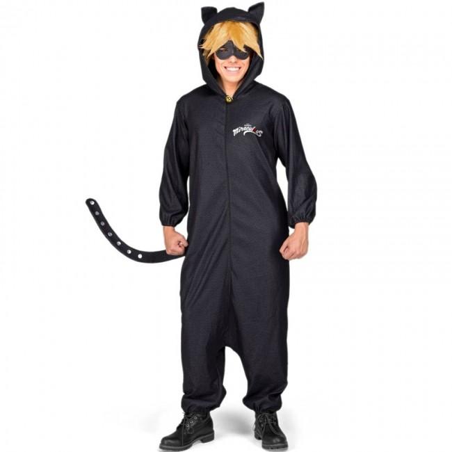 Disfraz pijama Cat Noir para Hombre【Envío en 24h】