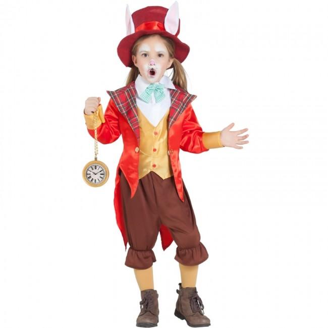 dc403d788 Disfraz de Conejo Alicia en el País de las Maravillas para niña