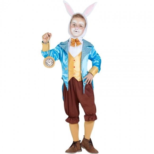 b427a37f9 Disfraz de Conejo Alicia en el País de las Maravillas para niño