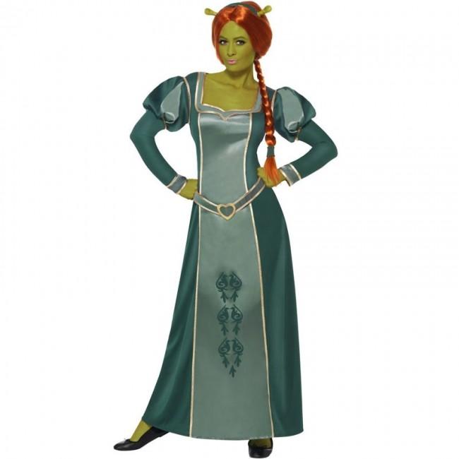 Disfraz Fiona Shrek Deluxe para Mujer【Envío en 24h】