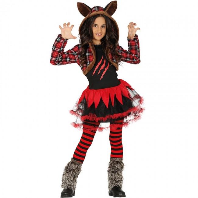 Disfraz De Loba Halloween Para Niña