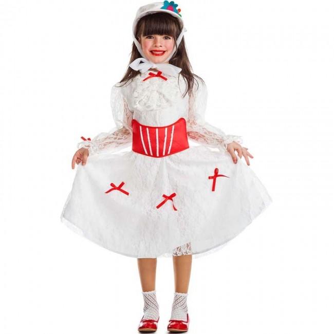 Disfraz Mary Poppins Blanca Para Niña Envíos En 24h