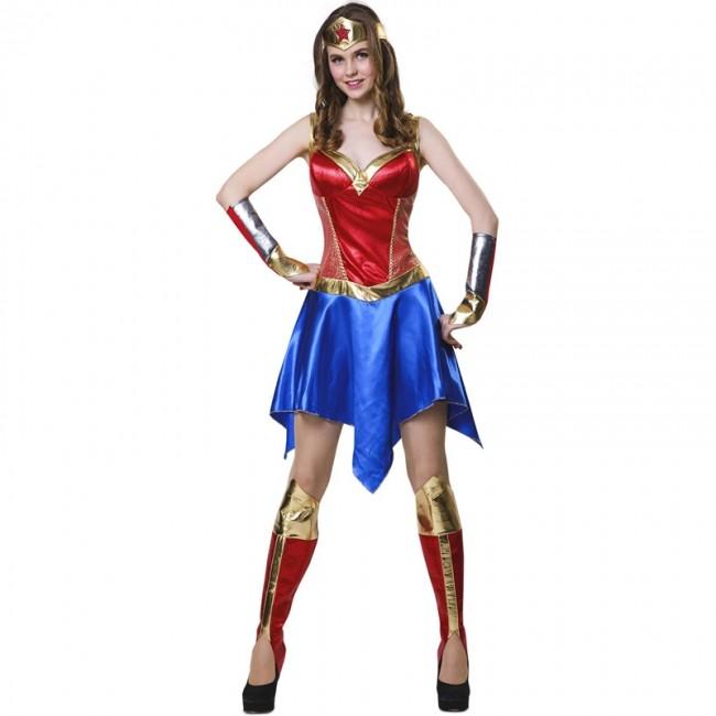 Disfraz De Mujer Maravilla Para Adulto