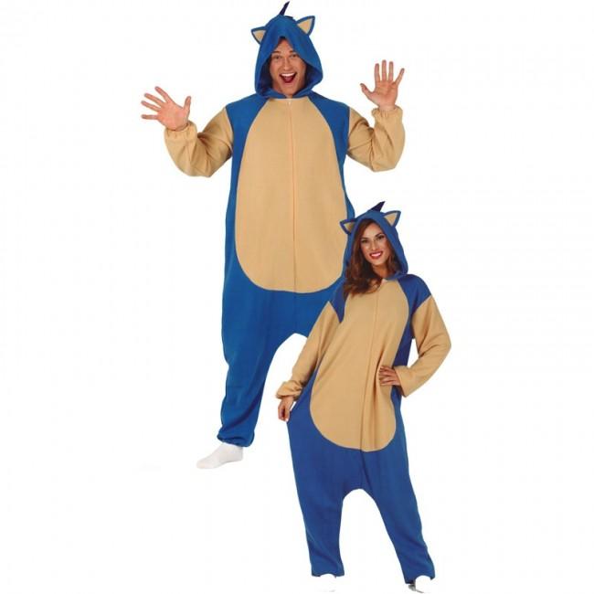 f3f663d89 Disfraz de Sonic para adulto