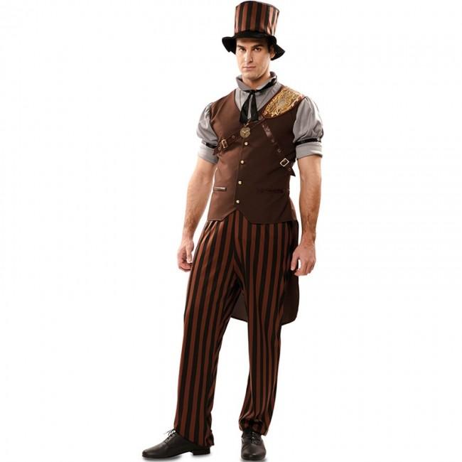 202de2bf8 Disfraz de Steampunk Gótico para hombre