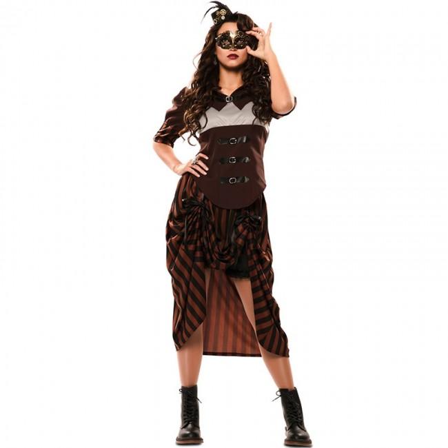 0fe731900 Disfraz de Steampunk Gótica para mujer
