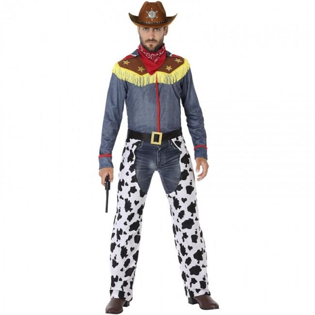 Disfraz Vaquero Toy Story para Hombre【Envío en 24h】