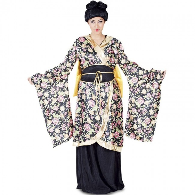 Disfraz De Geisha Para Mujer Envío En 24h