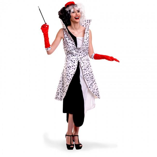 0aa44d6a2 Disfraz de Villana Cruella de Vil para mujer