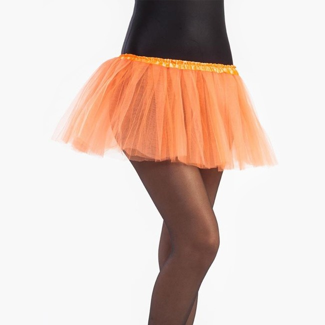 f02cd094b4 Disfraz Falda Tutú Naranja niña - Envíos en 24h