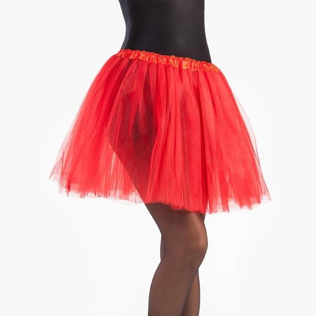 2be74237c Disfraz Falda Tutú Rojo mujer - Envíos en 24h