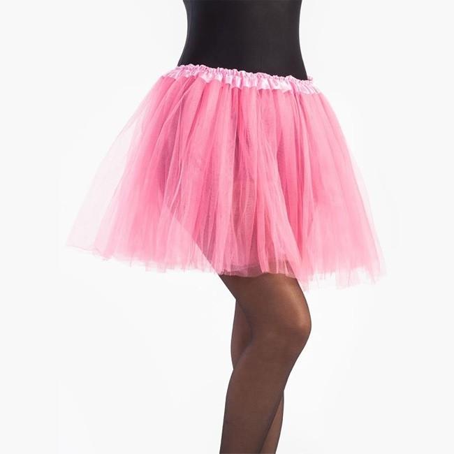 precio de descuento varios tipos de mayor selección Falda tutú rosa mujer