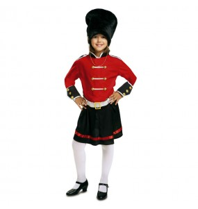 Disfraz de Guardiana Real Inglesa chica adulto