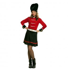 Disfraz de Guardiana Real Inglesa para mujer