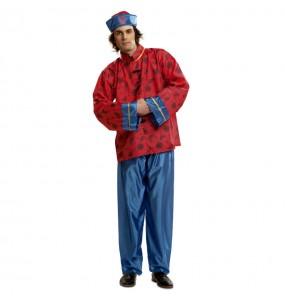 Disfraz de Chino hombre rojo