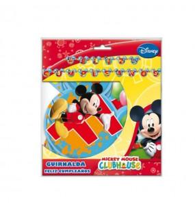 Guirnalda Cumpleaños Mickey Balloons