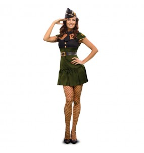 Disfraz de Soldado Señora Sexy