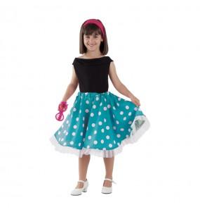 Disfraz de Chica Yeyé Años 60 Infantil