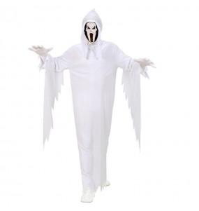 Disfraz de Fantasma Blanco infantil