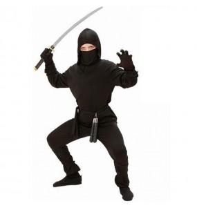 Disfraz de chico Ninja japonés