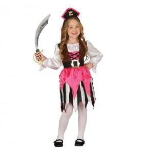 Disfraz de Pirata Rosa