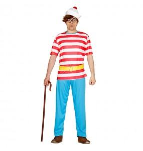Disfraz de Dónde está Wally barato adulto