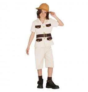 Disfraz de Explorador Safari para niño