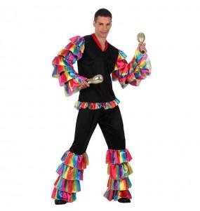 Disfraz de Rumbero Multicolor